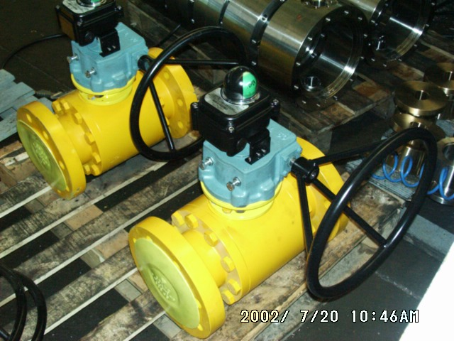Ball valve Microswitch box