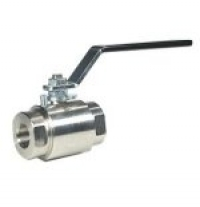 Barstock ball valves