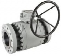 Trunnion ball valves