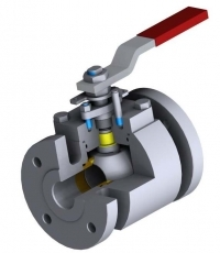 Top entry floating ball valves