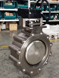 Explosion proof butterfly valves