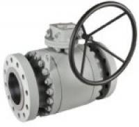 Trunnion ball valves